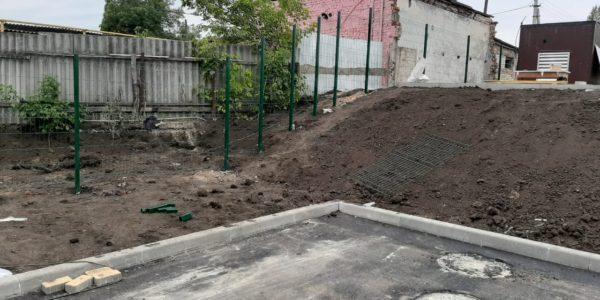 граждение детского сада в селе Хохол - 5