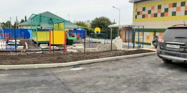 Ограждение детского сада в селе Хохол - 3