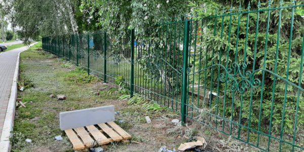 Ограждение офисного здания в городе Тамбов - 6