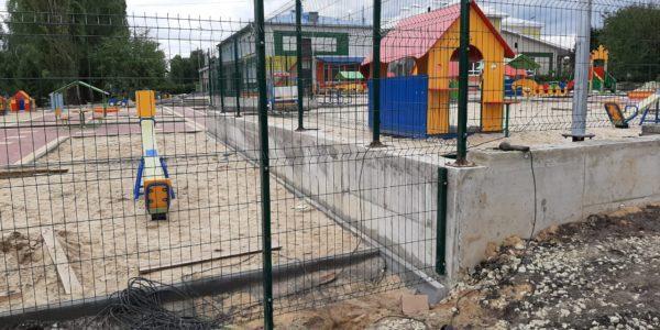 Ограждение детского сада в селе Хохол - 2