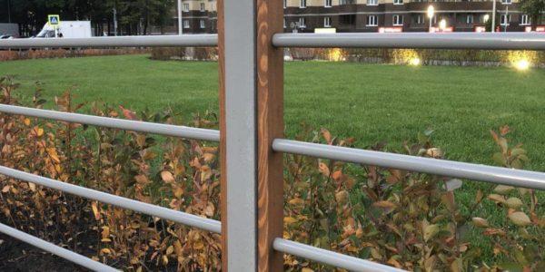 забор из профильной трубы в ворноеже