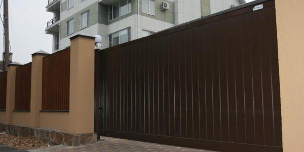 откатные ворота во двор воронеж