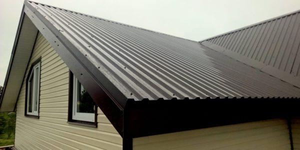 покрытие крыши профнастилом воронеж